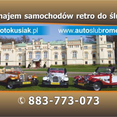 Piękne samochody RETRO do ślubu Kraków i Małopolska
